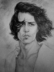 Johnny Depp in 'Don Juan' by Marina Cardoso