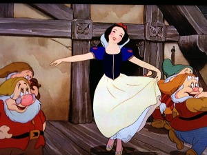 What dance looks like, when you're 5. 'Snow White and The Seven Dwarves,' Disney.