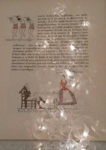 Another way to code your secrets. La Gazette du bon ton, 1920s.