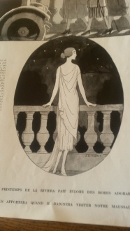 A new interpretation of Achilles' heel; a goddess with back to front feet... Andre Marty, 1920