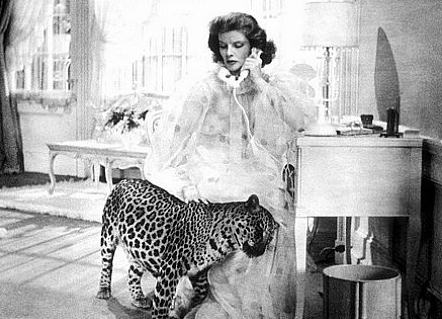 Susan and leopard